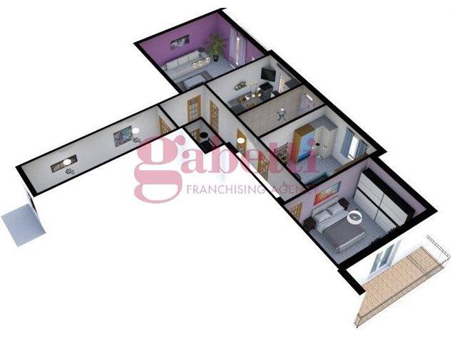 floorplans Arzano: Appartamento in Vendita, Via Saviano, immagine 4