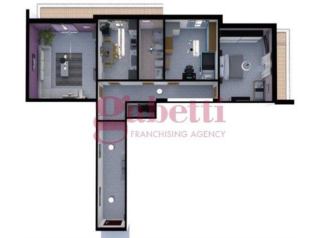 floorplans Arzano: Appartamento in Vendita, Via Saviano, immagine 2