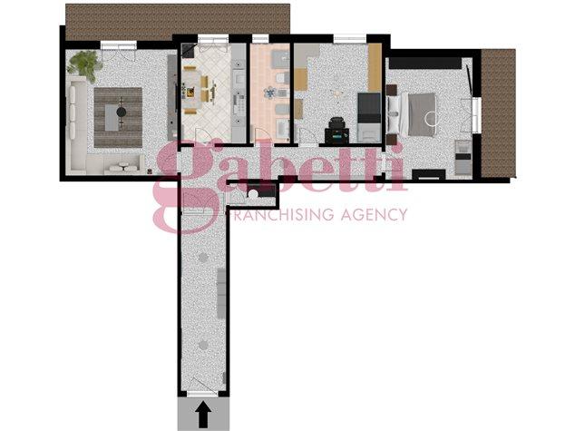 floorplans Arzano: Appartamento in Vendita, Via Saviano, immagine 1