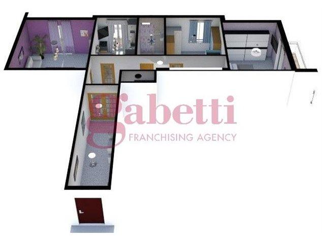 floorplans Arzano: Appartamento in Vendita, Via Saviano, immagine 3