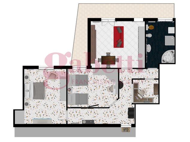floorplans Arzano: Appartamento in Vendita, , immagine 1