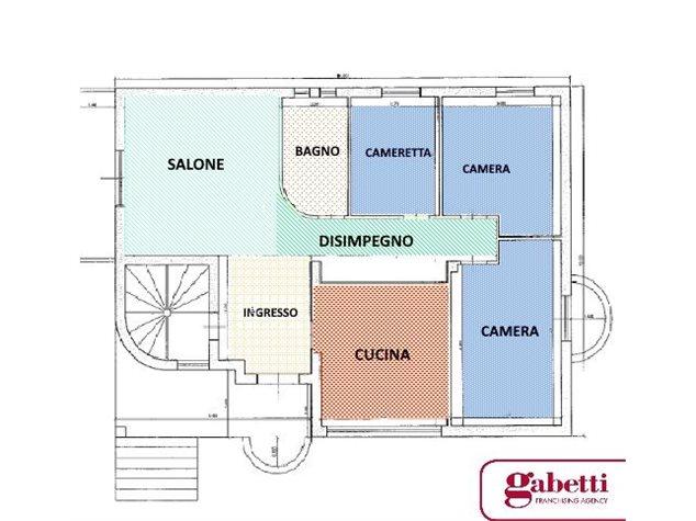 floorplans Aprilia: Villa in Vendita, Via Marmolada, 52, immagine 1