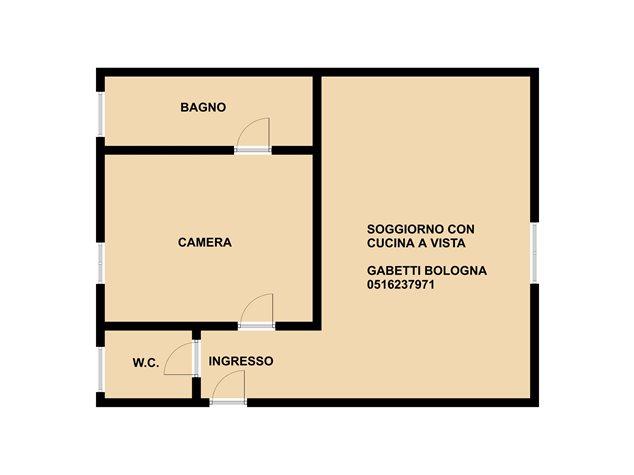 floorplans Bologna: Appartamento in Vendita, Via Savenella, 19, immagine 1