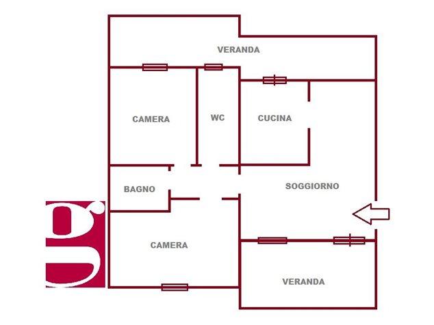 floorplans Messina: Appartamento in Vendita, Via Lanzetta, Snc, immagine 2