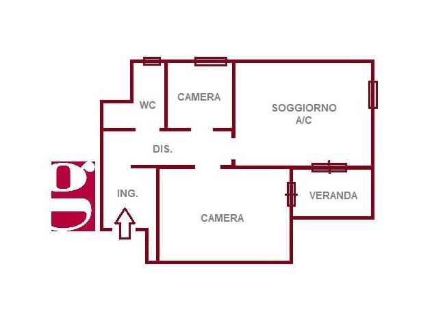 floorplans Alì Terme: Appartamento in Vendita, Vico Barotta, 4, immagine 1