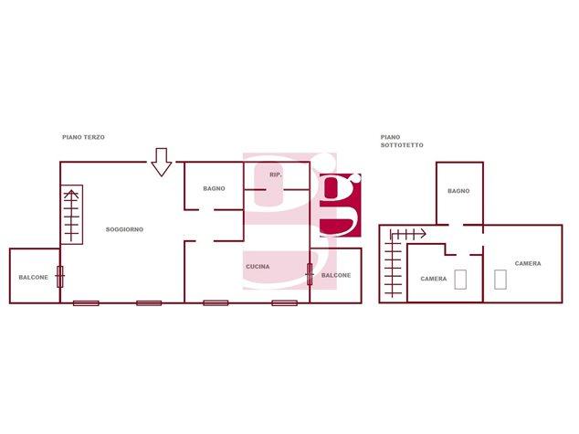 floorplans Messina: Appartamento in Vendita, Viale Padre Ruggeri, Snc, immagine 1