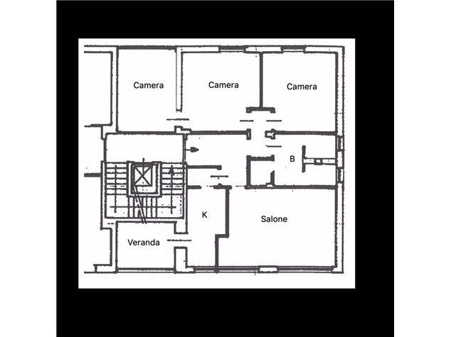 floorplans Torino: Appartamento in Vendita, Via Servais , 112, immagine 1