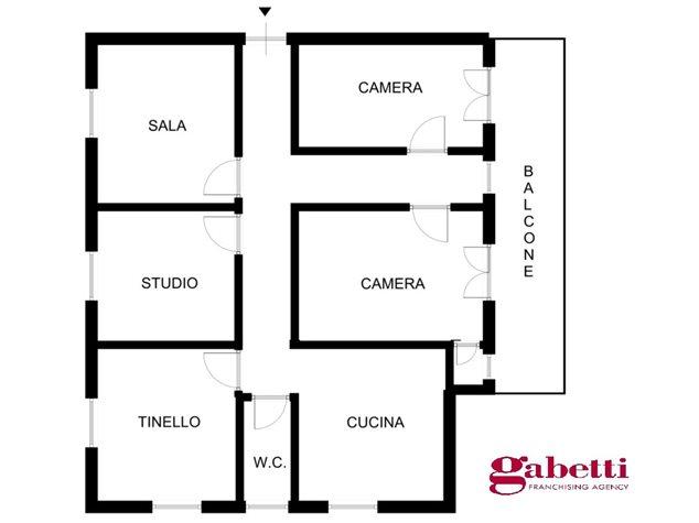 floorplans Marradi: Appartamento in Vendita, Via Tamburini, 0, immagine 1
