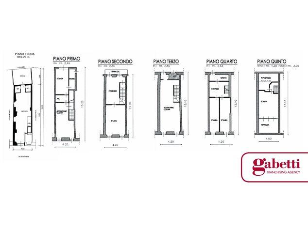 floorplans Riva del Garda: Casa Indipendente in Vendita, , immagine 1