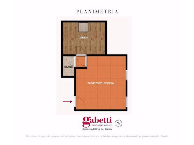 floorplans Comano Terme: Appartamento in Vendita, Frazione Villa, 23, immagine 1