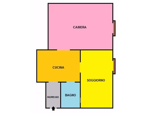 Formia: Appartamento in , Via Della Torre , 54