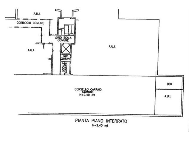 floorplans Busto Arsizio: Appartamento in Vendita, Viale Trentino, immagine 3