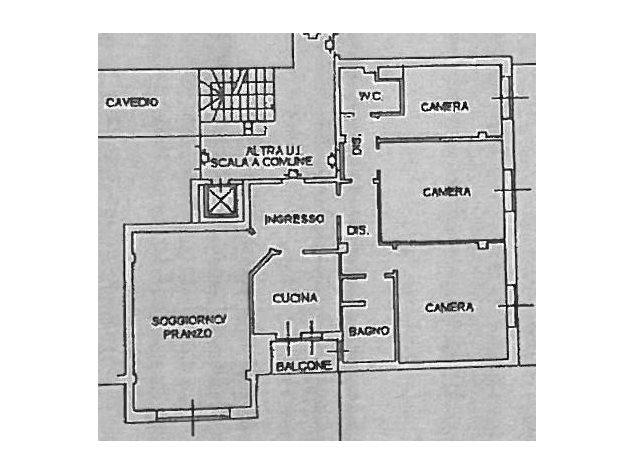 floorplans Lecco: Appartamento in Vendita, Via Xi Febbraio, 1, immagine 1