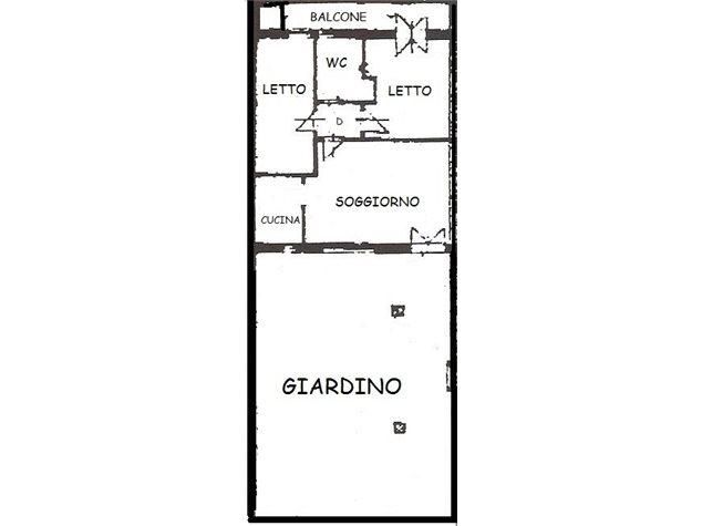 floorplans Comacchio: Villa a schiera in Vendita, Viale Verdi, 144, immagine 1