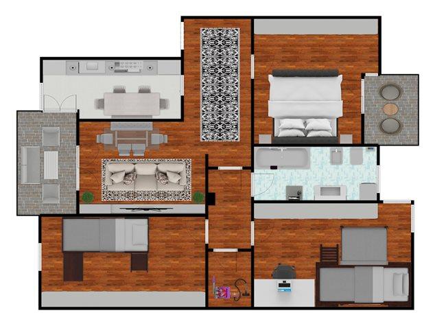 floorplans Milano: Appartamento in Vendita, Via Annibale Cusi, 2, immagine 2