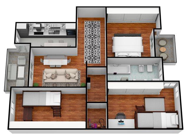 floorplans Milano: Appartamento in Vendita, Via Annibale Cusi, 2, immagine 1