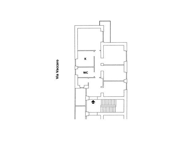 floorplans Potenza: Appartamento in Vendita, Via Vaccaro, 35, immagine 1