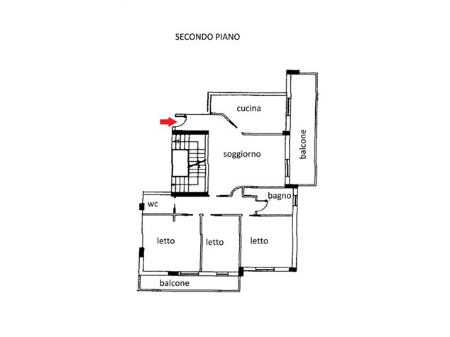 floorplans Venafro (IS), Appartamento, Viale Cesare Augusto, 1