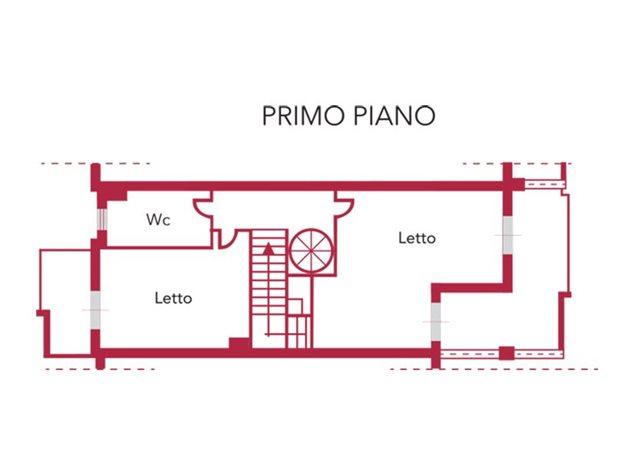 floorplans Venafro: Villa a schiera in Vendita, Via Giunio Giovenale, S/N, immagine 3