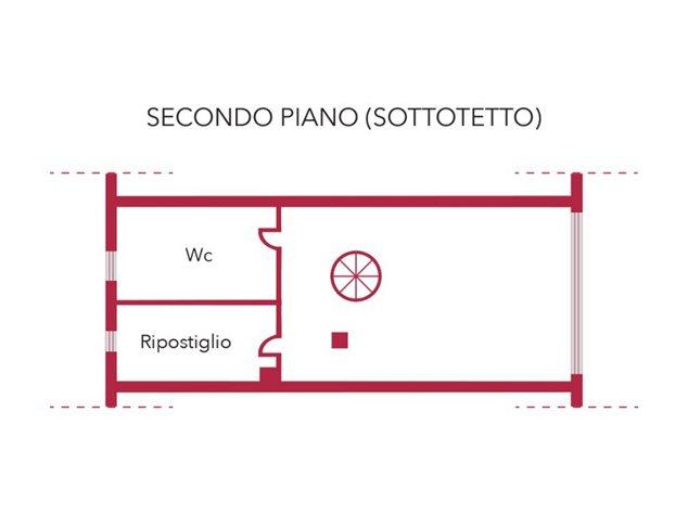 floorplans Venafro: Villa a schiera in Vendita, Via Giunio Giovenale, S/N, immagine 1