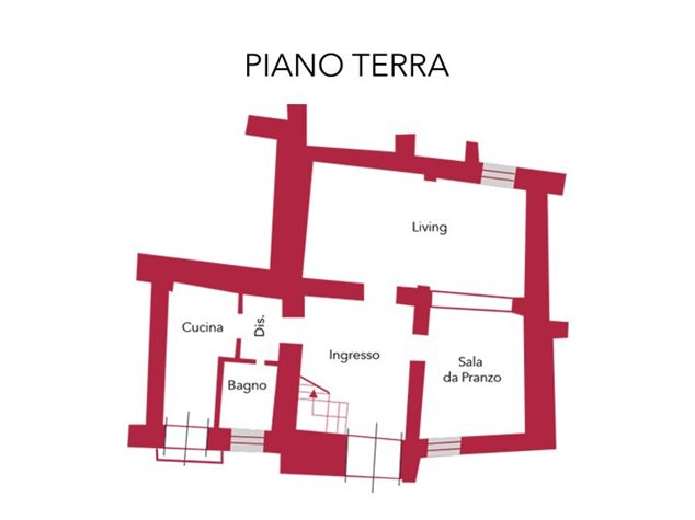 floorplans Venafro (IS), Casa Indipendente, Via De Bellis, 3