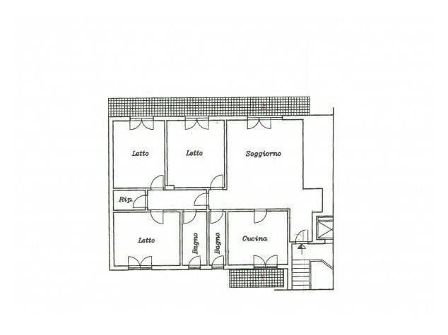 floorplans Venafro (IS), Appartamento, Piazza Vittorio Emanuele II, 21