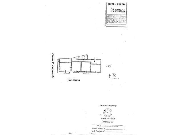 floorplans Palermo: Appartamento in Vendita, Via Zara, 5, immagine 1