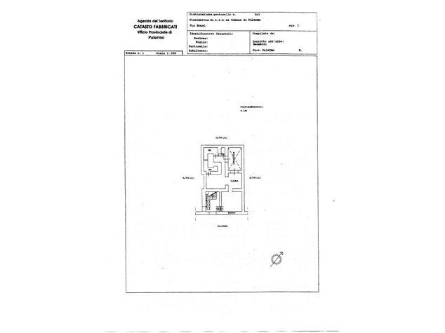 floorplans Palermo: Appartamento in Vendita, Via Houel, 7, immagine 1