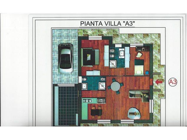 floorplans Varallo Pombia: Villa a schiera in Vendita, Via Giovanni Bosco, 28, immagine 7