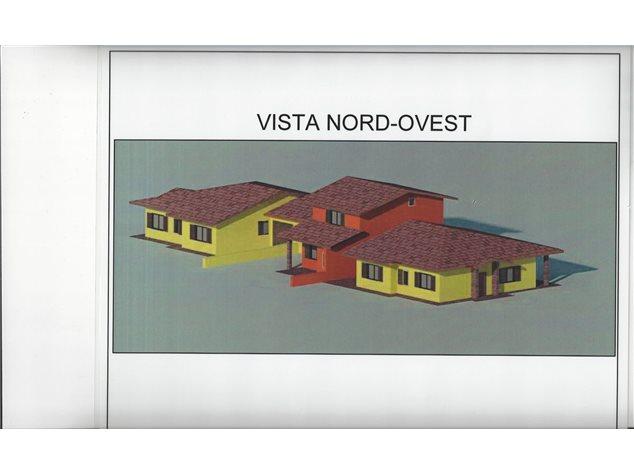 floorplans Varallo Pombia: Villa a schiera in Vendita, Via Giovanni Bosco, 28, immagine 1