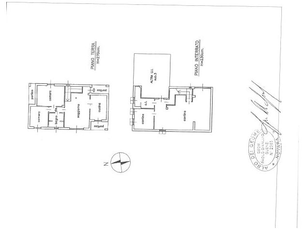 floorplans Varallo Pombia: Villa in Vendita, , immagine 1