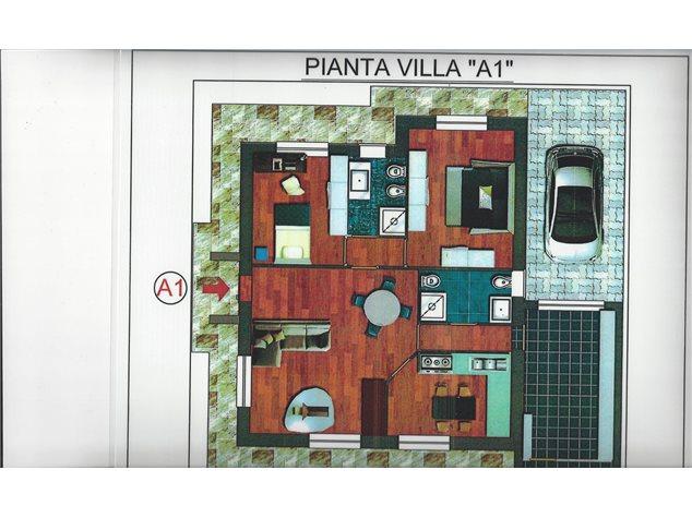 floorplans Varallo Pombia: Villa a schiera in Vendita, Via Giovanni Bosco, 28, immagine 3