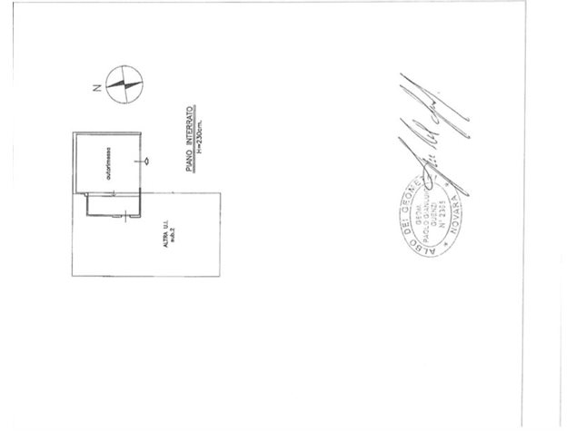 floorplans Varallo Pombia: Villa in Vendita, , immagine 2
