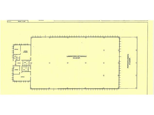 floorplans Varallo Pombia: Capannone in Vendita, Via Mirabella, 20, immagine 1