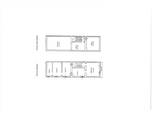 floorplans Oleggio: Casa Indipendente in Vendita, , immagine 2