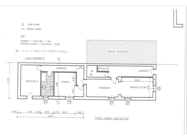 floorplans Oleggio: Casa Indipendente in Vendita, , immagine 1