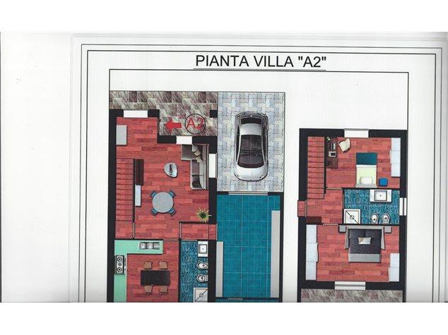 floorplans Varallo Pombia: Villa a schiera in Vendita, Via Giovanni Bosco, 28, immagine 5