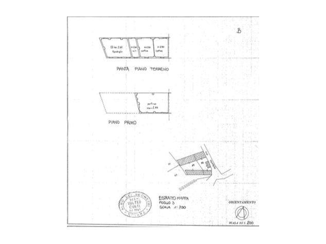 floorplans Divignano: Rustico in Vendita, , immagine 2