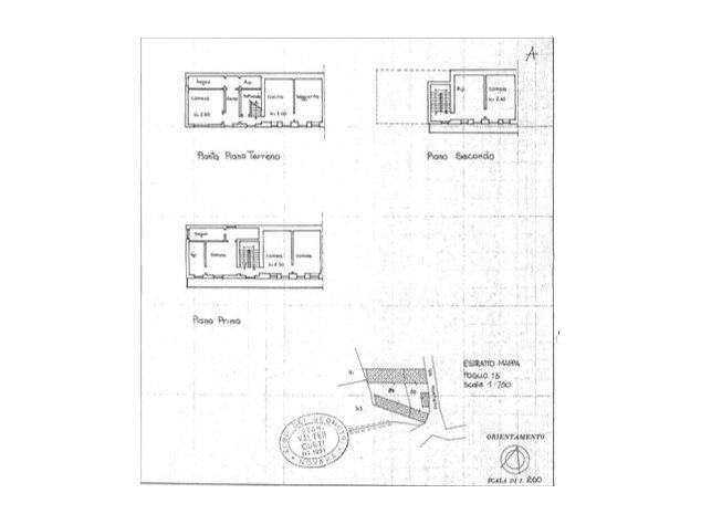 floorplans Divignano: Rustico in Vendita, , immagine 1