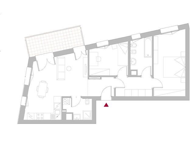 floorplans Bologna: Appartamento in Vendita, Via John Cage, 0, immagine 1