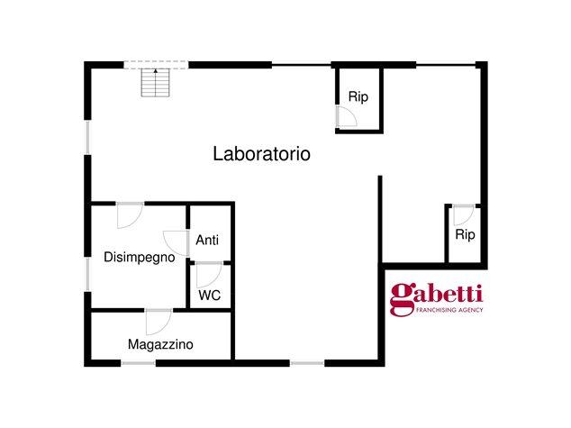 floorplans Bologna: Laboratorio in Vendita, Via Del Cestello, 0, immagine 1